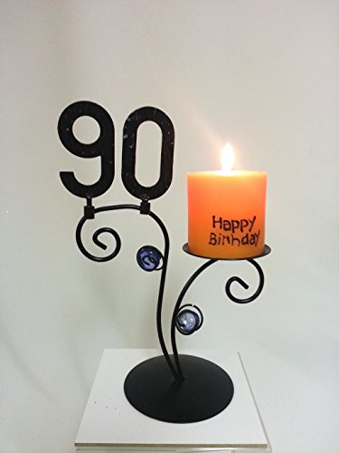 Leuchter Happy Birthday (90. Geburtstag)