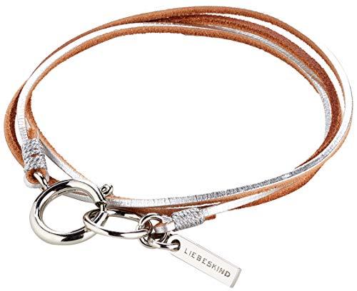 Liebeskind Berlin Essential Joy Damen Bracelets, 1x60x1 cm (B x H x T), Silber (Silver)