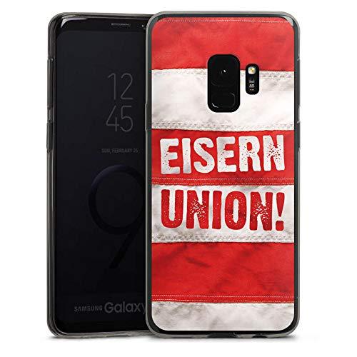 DeinDesign Slim Case Silikon Hülle Ultra Dünn Schutzhülle kompatibel mit Samsung Galaxy S9 1. FC Union Berlin Fussball Fanartikel