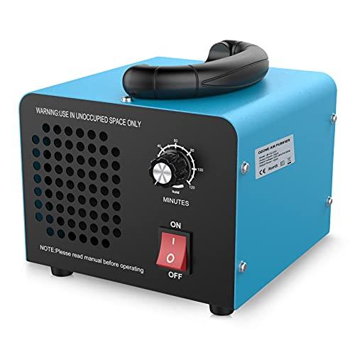 JOBYNA Ozongenerator O3 Ozon-Luftreiniger, 20,000mg/h Industrieller Ozonisator mit Timer, Handelsübliche Geruchskiller Geruchsentferner für Zimmer, Rauch, Autos und Haustiere