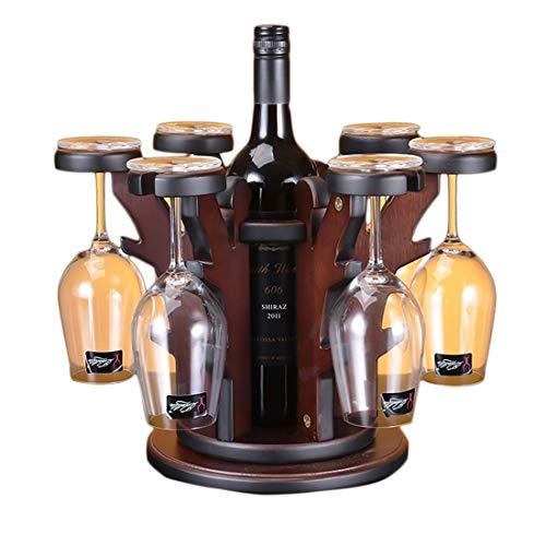 Yhui Weinregal Kleines Holz Weinregal Lagerung 1 Flaschen for Aufsatz- und Wohnung Möbel, Wohn - Give als Hochzeitsgeschenk (Size : 44)