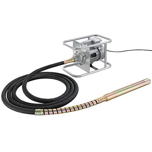Arebos Elektro - Betonrüttler 1500W   2850 U/min   6 m   Elektrisch   flexible Welle   Dauerbetrieb