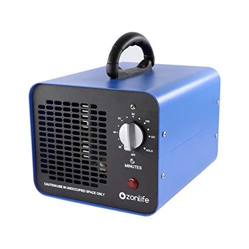 Industrieller Ozongenerator 10,000 MG/h, Geruchskiller Ozon-Luftreiniger mit Timer, bis zu 300㎡, Geeignet für Räume/Haushalte/Hotels/Keller