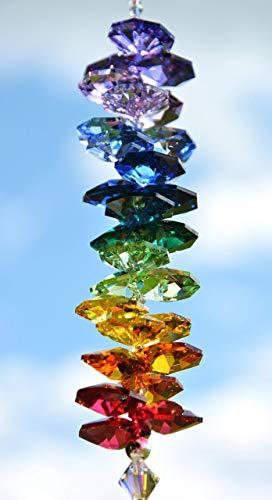 NEU! Sonnenfänger 'Rainbow', handgearbeitet aus funkelnden Kristallen von Swarovski