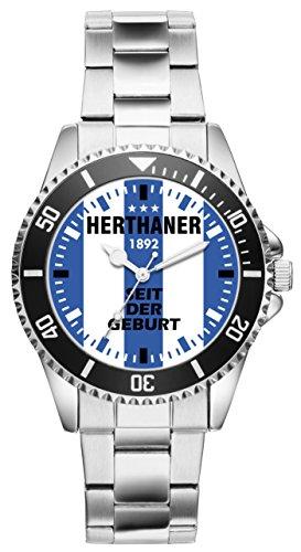 KIESENBERG - Herthaner Geschenk Artikel Idee Fan Uhr 6085