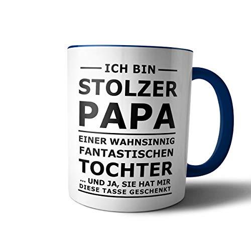creativgravur Tasse mit Spruch STOLZER PAPA, STOLZE MAMA Kaffeetasse Kaffeebecher Kaffeepot Frühstückstasse Bürotasse, Motiv:Motiv 07