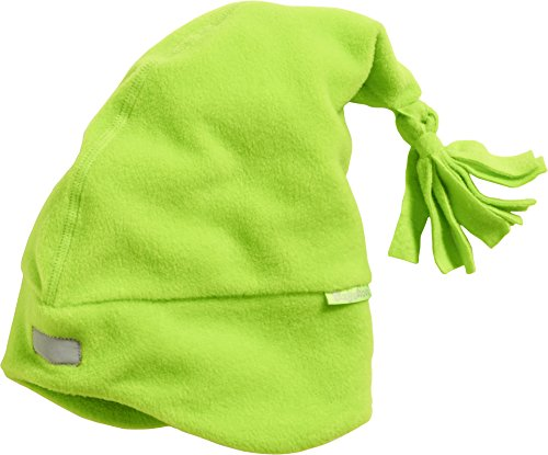 Playshoes Unisex Fleece-Zipfelmütze Strickmütze, Grün (grün 29), 53 cm