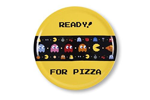 Excelsa Pacman Pizzateller 31 cm, Porzellan, mehrfarbig