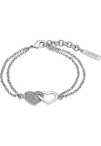 JETTE Silver Damen-Armband 925er Silber 33 Zirkonia One Size 87369072