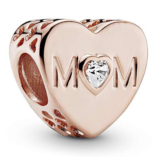 Pandora Moments Mother Heart Damen Bead Charm Pandora Rose 10,5 x 11 mm