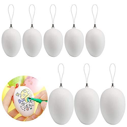 Naler 50 Stück Ostereier Deko Eier für Ostern Dekoration