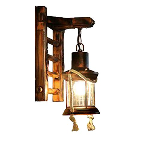 Elitlife Retro Nostalgie Wand Lampe Korridor Innenhof Kerosin Glas Pferd Lampe [Energieklasse A+++]
