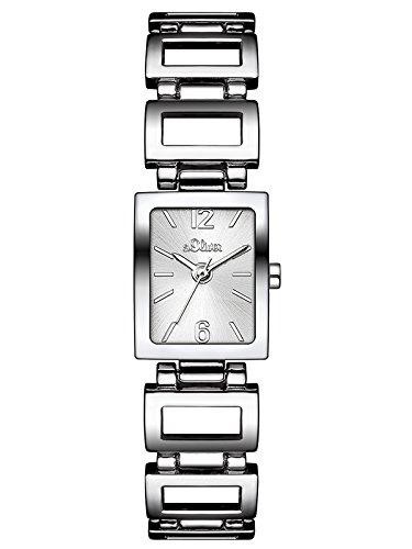 S.Oliver Damen Analog Quarz Armbanduhr SO-3023-MQ