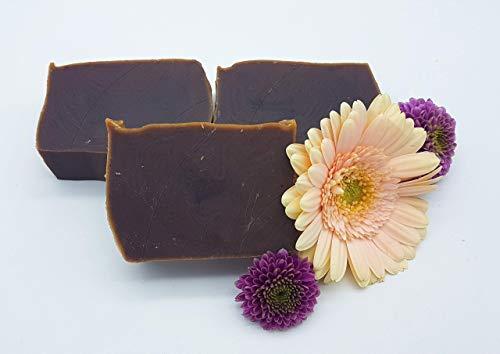 Schokoladentraum Seife, Duschseife, vegan, plastikfrei, ohne Palmöl, handgemachte Naturseife von kleine Auszeit Manufaktur