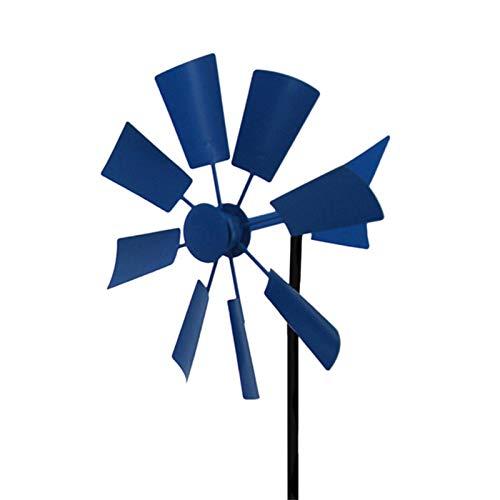Windräder Garten Metall Gartendeko Kinder Balkon Wetterfest Deko Windspiel Windmühle Gartenstecker, Eisen Kunst Garten Rasen Hinterhof Park Kindergarten, Outdoor Garden Park Dekoration