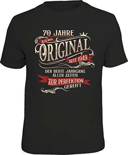 T-Shirt zum 70. Geburtstag: Original-Zur Perfektion gereift XL Nr.6315