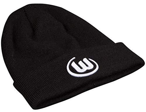 Die stylische VfL Wolfsburg Strickmütze Logo in schwarz hält an kalten Tagen nicht nur die Ohren im Stadion warm sondern ist ein super Fanartikel um auch im Herbst und Winter zu zeigen, dass das Herz nur für den VfL schlägt.