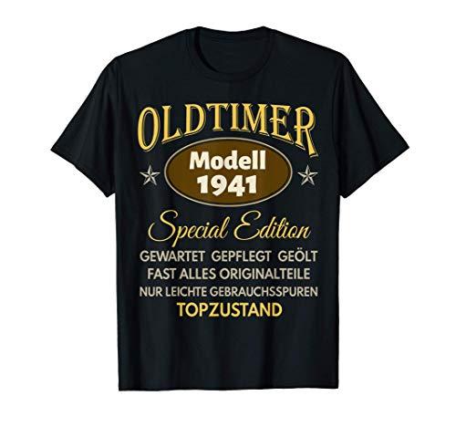 80. Geburtstag 80 Jahre Damen Herren Spruch Lustig Geschenk T-Shirt