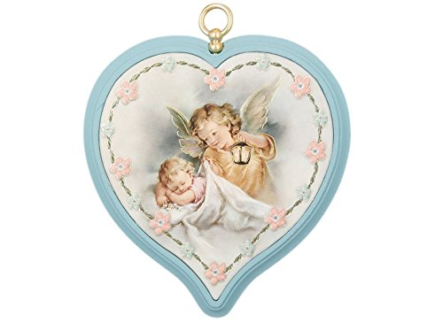 MaMeMi Engel-Bilder Herz blau