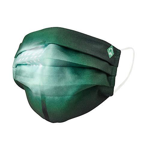 Werder Bremen SV Maske Flutlicht Mund Nasen