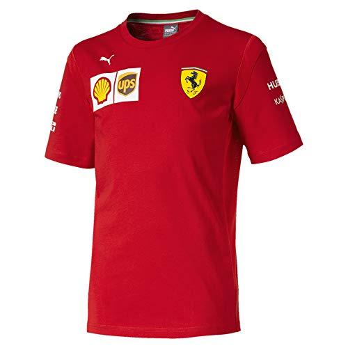 PUMA Ferrari Jungen Team T-Shirt Rosso Corsa 152