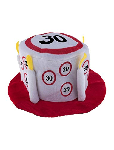 TrendClub100 Geburtstag Party Traffic Hut - Verkehrsschild Nr. 30