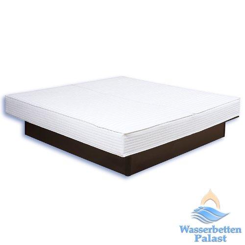Premium Comfort Wasserbettbezug/teilbare Auflage - in Frottee Baumwolle Qualität - alle Größen - z.B. 200x220 cm