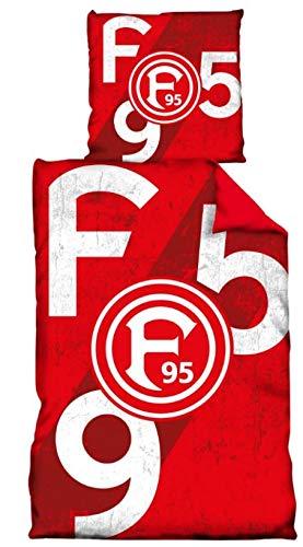 Fortuna Düsseldorf Bettwäsche'F95' 135 * 200 cm