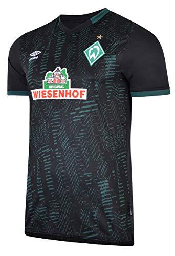Die neue Spielzeit wird schon mit Spannung erwartet und sobald der Ball wieder rollt und die Saison begonnen hat, erstrahlt auch das Team von der Weser in neuem Gewand. Unterstütze deine Jungs und zeige deinen Stolz mit dem offiziellen Ausweichtrikot für Herren.