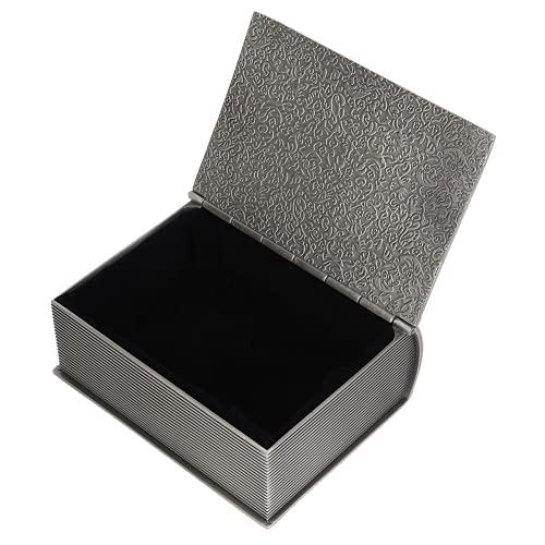 BOTEGRA Schmuck Aufbewahrungsbox, Retro Aufbewahrungsbox Retro für Wohnzimmer für Armbänder Ohrringe