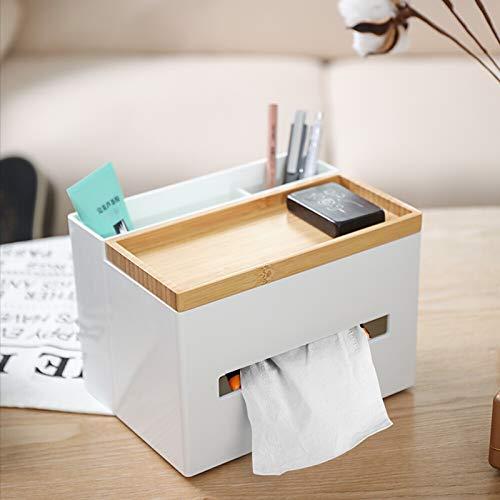 Einfache Stifthalter Nordische Haushalts Taschentuchbox Kreative Holz-Kunststoff Büro Desktop Multifunktionale Lagerung Wohnzimmer Couchtisch