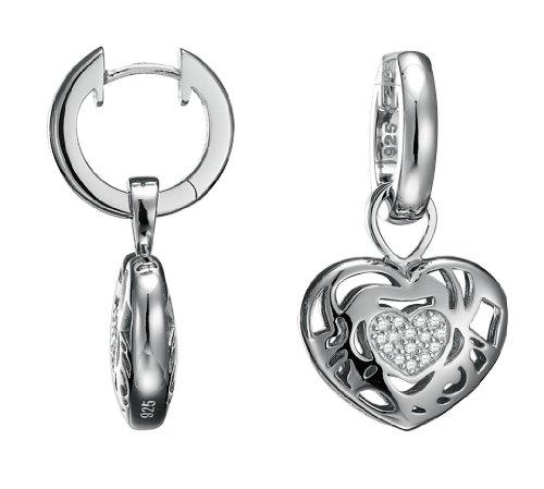 Esprit Damenohrringe BLOOMING LOVE 925 Sterling Silber 4411480