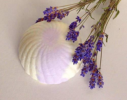 Lavendel Sole Seife, Gesichtsseife, Salzseife, unrene Haut, ohne Palmöl, vegan, handgemachte Naturseife von kleine Auszeit Manufaktur