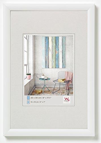 walther design KP050W Trendstyle Kunststoffrahmen, 40x50 cm, weiß