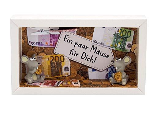 ZauberDeko Geldgeschenk Verpackung Geldmäuse Mäuse Geld Geburtstag Geschenk