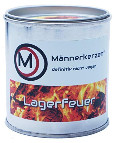 Männerkerzen Handgemachte Duftkerzen - Lustige Geschenke für Männer (Sorte Lagerfeuer)