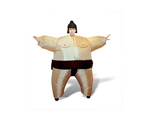 Giggle Beaver Aufblasbare Sumo Kostüm Wrestling Fat Suit Halloween Oktoberfest Sprengen Lustige Neuheit Cosplay Fasching Karneval
