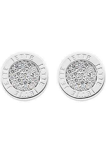 JETTE Silver Damen-Ohrstecker 925er Silber 38 Zirkonia One Size 86992671
