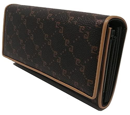 PIERRE CARDIN Geldbörse für Damen, schön, groß, geräumig, Leder, Rfid, Geschenk, Geldbörse mit Münzfach, Geldbörse für Mädchen