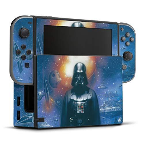 DeinDesign Skin kompatibel mit Nintendo Switch Folie Sticker Star Wars Darth Vader Fanartikel