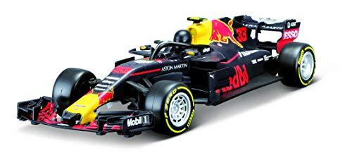 Maisto Tech R/C Red Bull RB14 '18: Ferngesteuertes Auto 'Max Verstappen' 1:24, Original Formel 1, 22 cm, schwarz (581380)
