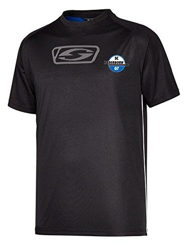 SC Paderborn 07 »Team T-Shirt« Saison 2018/2019 370 schwarz-blau Gr. L