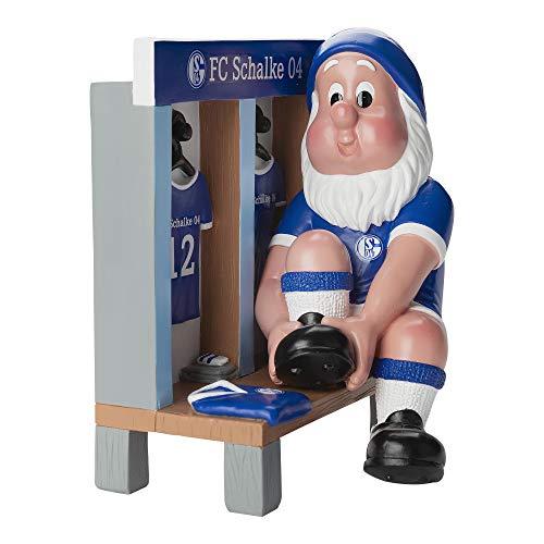FC Schalke 04 Gartenzwerg Kabine 15 x 12 x 17,5 cm