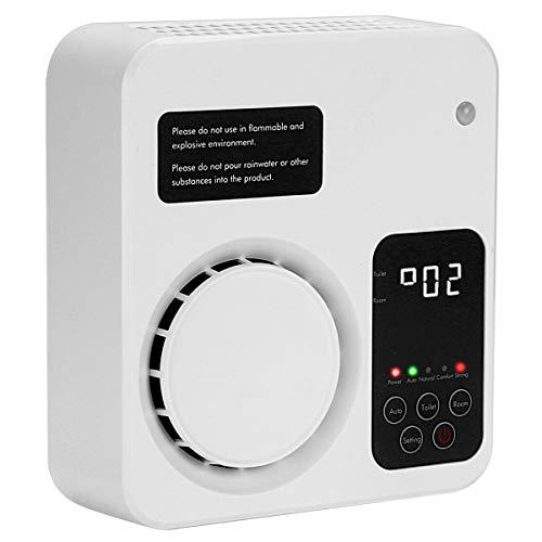 Tunume Ozongenerator, Ionisator, Ionisator, für zu Hause, für das Schlafzimmer und das Büro von Kichen (Weiß)