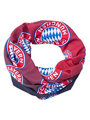 FC Bayern München Kinder Multifunktionstuch, Schlauchschal