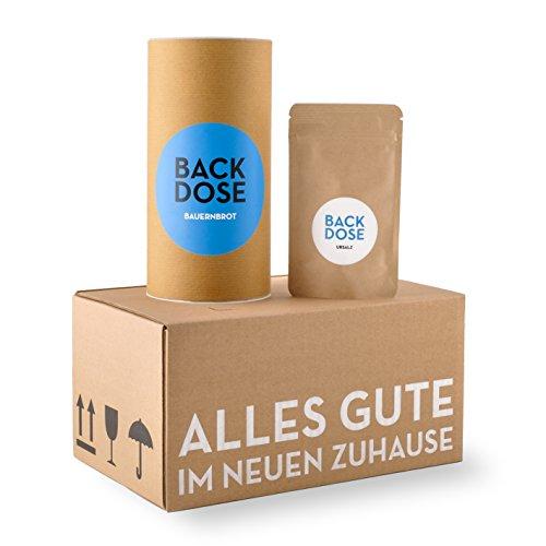 Brot und Salz Box - BACKDOSE® - Umzugsgeschenk, Einzugsgeschenk, EInweihungsgeschenk