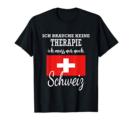 Cooles Schweizer Geschenk Schweiz T-Shirt