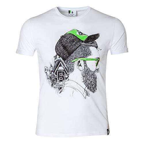 Herren-Shirt Flash Zeig deine Liebe zur Borussia mit dem trendigen T-Shirt Flash. Dieses T-Shirt für Herren mit großem Printmotiv auf der Brust hat einen weißen Layering an beiden Ärmeln. Kurzarm T-Shirt für Herren mit Printmotiv auf der Brust und Weißer Layering am Ärmelabschluss Material: 100% Baumwolle