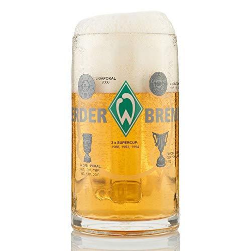 "BIERKRUG BIERGLAS GLAS ""Erfolge"" SV WERDER BREMEN"