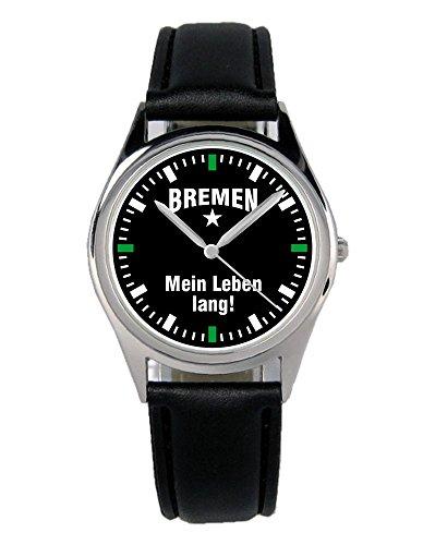 Perfekt für moderne Frauen und Männer! Dank diesem besonderen Modells schaust du doppelt so gerne nach der Zeit! Ein solides Laufwerk sorgt für Ganggenauigkeit. Der Durchmesser der Uhr beträgt ca. 36 mm. Zudem kommt diese Uhr sowohl an Männer- als auch an Frauenhandgelenken prima zur Geltung.